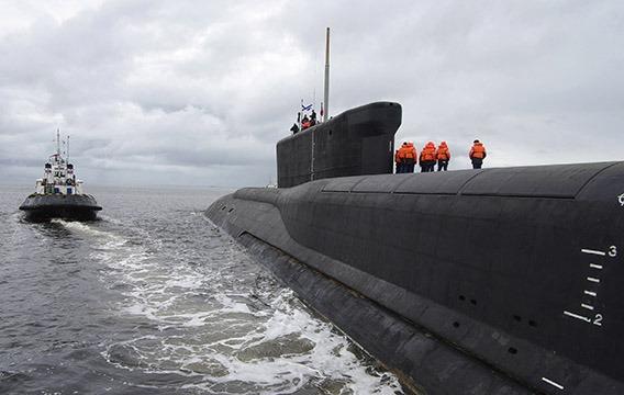 Tàu ngầm hạt nhân Nga phóng ngư lôi vào nhau ở Bắc Cực - 1