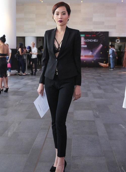 """Ngân 98, bạn gái Phan Mạnh Quỳnh gây """"náo loạn"""" casting The Face - 9"""
