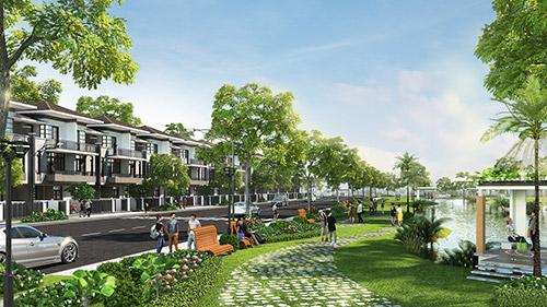 Sức hút của dự án biệt thự phố vườn LAVILA - 1