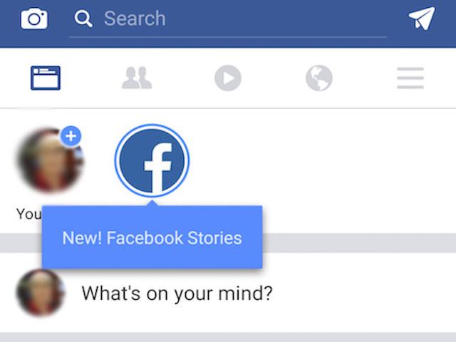 Facebook tung tính năng chia sẻ ảnh vui nhộn, hiệu lực trong 24 giờ