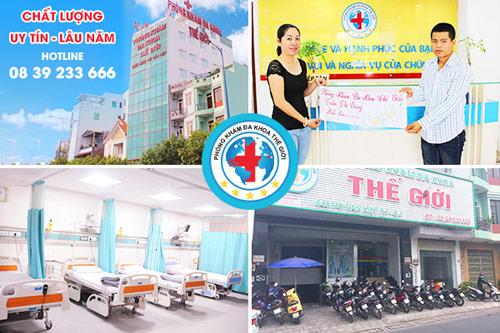 Phòng khám Nam Khoa Thế Giới chuyên chữa bệnh khó nói - 2
