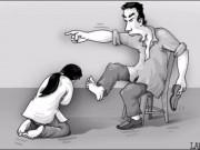 Truyện cười - Truyện cười: Vợ chồng mang họa vì diễn sâu quá