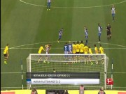Bóng đá - Bàn thắng đẹp V24 Bundesliga: Siêu phẩm đá phạt hạ Dortmund