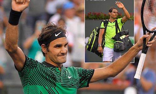"""Federer - Nadal: """"Tàu tốc hành"""" là khắc tinh của """"Bò tót"""" - 1"""