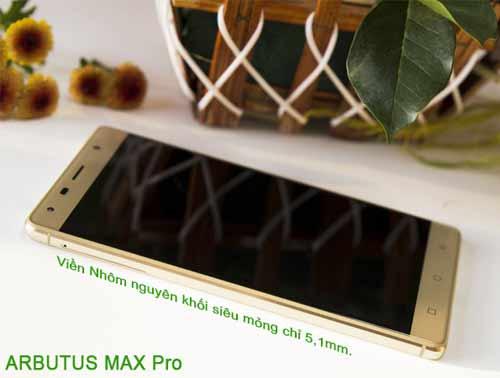 Tổng quan về  Smartphone  Max pro vừa ra mắt của Arbutus - 1