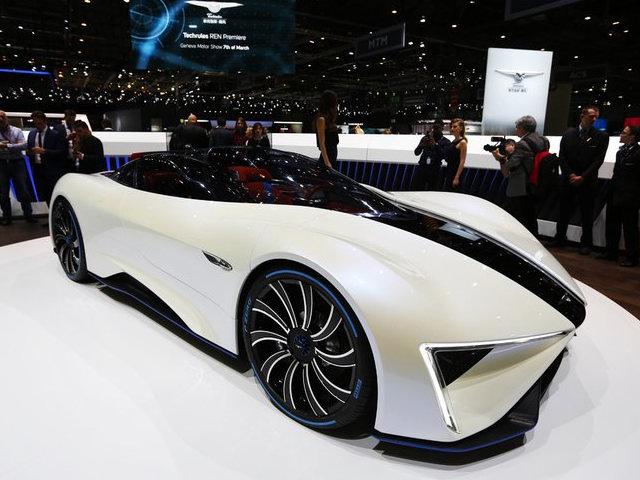 Techrules Ren: Siêu xe Trung Quốc mạnh 1.287 mã lực - 1