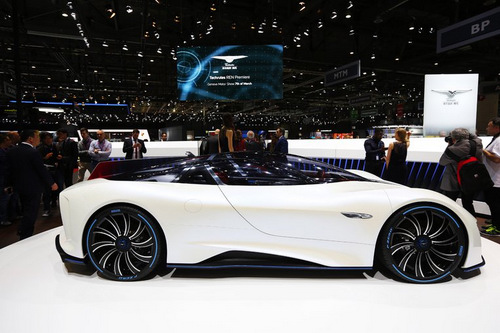 Techrules Ren: Siêu xe Trung Quốc mạnh 1.287 mã lực - 2
