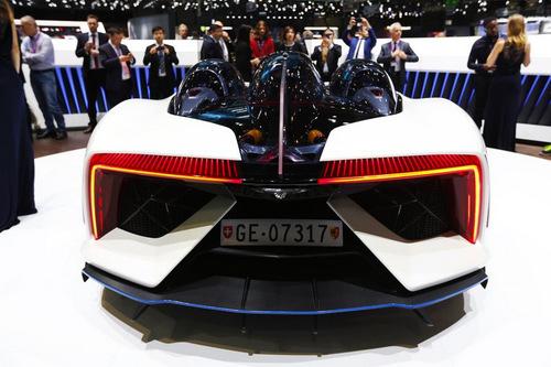 Techrules Ren: Siêu xe Trung Quốc mạnh 1.287 mã lực - 3