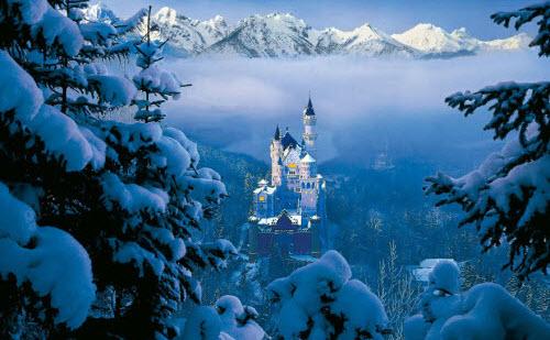 10 cảnh ngoài đời đẹp như cổ tích trong phim Disney - 2