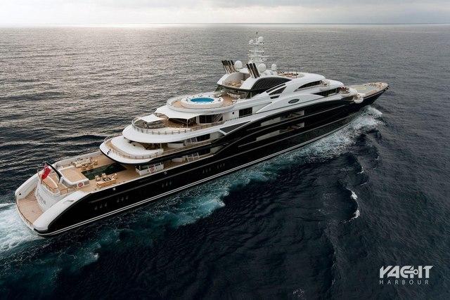 """Dân chơi Ả Rập tuổi 30 mua siêu du thuyền trong """"chớp mắt"""" - 1"""