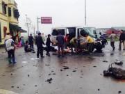 Tin tức trong ngày - Xe đón dâu chạm xe chở đá, 13 người thương vong