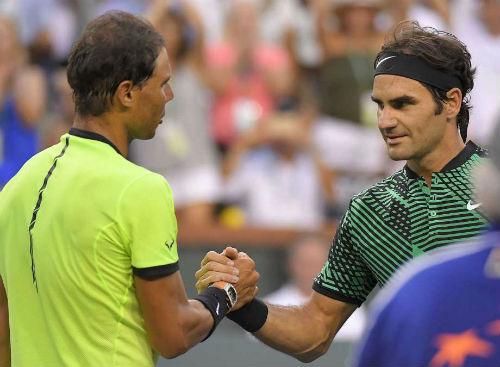 """Federer có """"hat-trick"""" thắng Nadal: Sự tái xuất ngoạn mục - 1"""