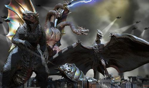 """Hé lộ vũ trụ điện ảnh toàn... quái vật khủng sau """"Kong"""" - 1"""