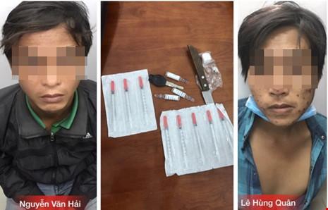 Đặc nhiệm đá bay dao trên tay kẻ nhiễm HIV - 1