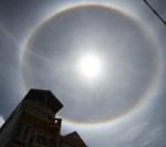 Clip: Xuất hiện quầng sáng kỳ lạ quanh mặt trời ở Gia Lai - 3