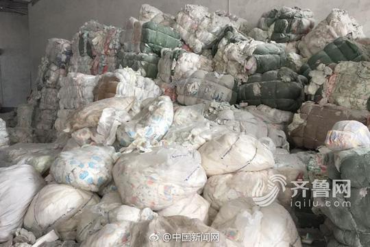 Trung Quốc: Sản xuất tã người lớn từ tã đã dùng - 1