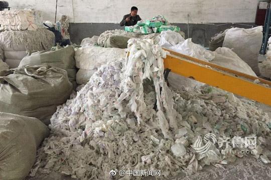 Trung Quốc: Sản xuất tã người lớn từ tã đã dùng - 2