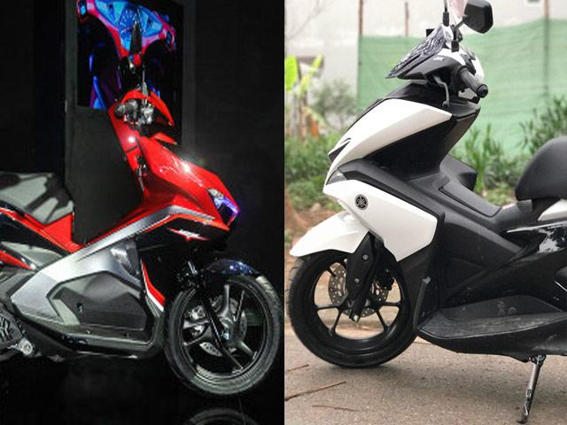 """Yamaha NVX 125 """"ám ảnh"""" Honda Air Blade 125 ra sao? - 1"""