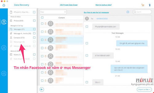 Mẹo khôi phục các tin nhắn đã xóa trên Facebook - 6