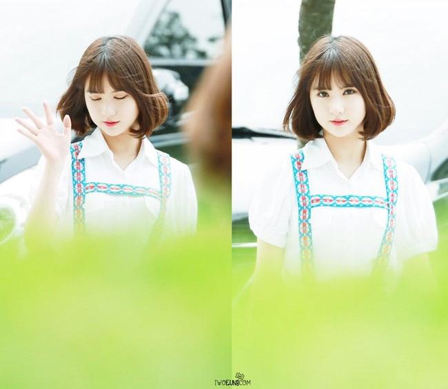 """Cô gái khiến dân tình  """" đổ rạp """"  chỉ trong vài giây ngắn ngủi này là & nbsp;Jung Eun Bi (sinh năm 1997), thành viên một nhóm nhạc thần tượng ở Hàn Quốc. & nbsp;"""