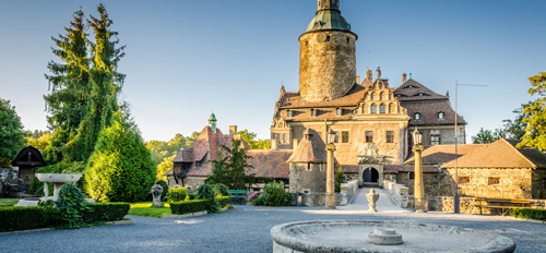Những tòa lâu đài đẹp như cổ tích tại Ba Lan - 3