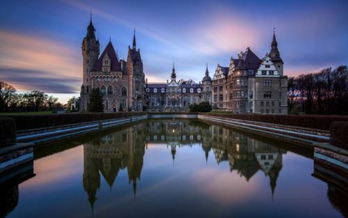 Những tòa lâu đài đẹp như cổ tích tại Ba Lan - 8