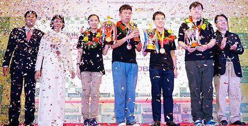 """Quang Liêm tiết lộ """"bí kíp"""" thắng 3 cao thủ Trung Quốc - 1"""