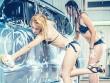 """Lạc vào """"thiên đường"""" chân dài sexy rửa xe"""