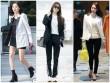 """Chiếc áo """"thần thánh"""" cô gái Hàn nào cũng thích"""