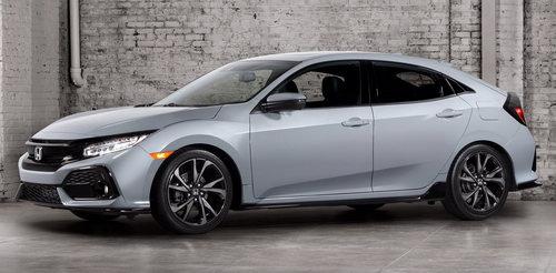 Honda Civic Hatchback 2017 có giá 764 triệu đồng - 1