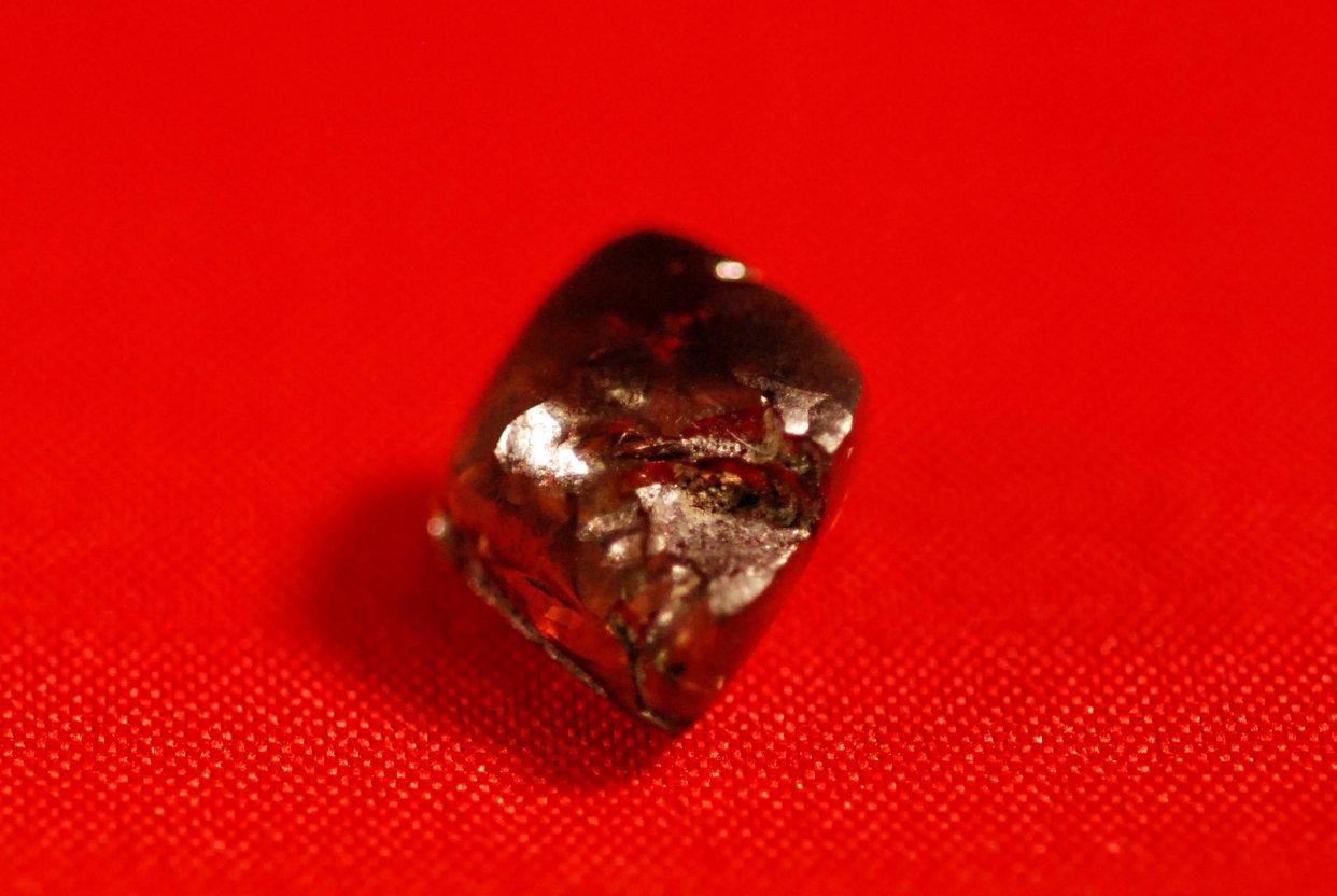 Mỹ: Đang tản bộ, nhặt được kim cương nâu lớn nhất 40 năm - 1