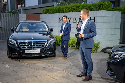 Mercedes-Maybach S400 và S500 ra mắt Việt Nam - 2