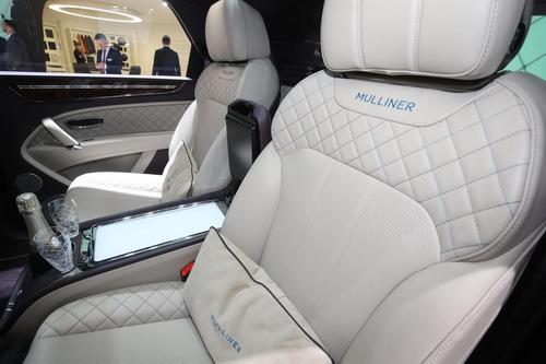 Cận cảnh SUV siêu sang đặc biệt Bentley Bentayga Mulliner - 5
