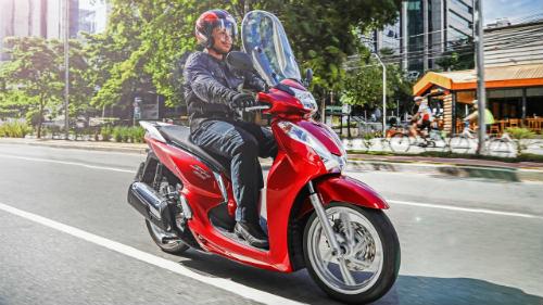 Hút mắt Honda SH 300i 2017 màu đỏ ngọc, giá 154 triệu đồng - 1
