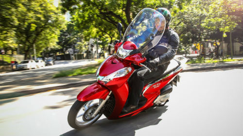 Hút mắt Honda SH 300i 2017 màu đỏ ngọc, giá 154 triệu đồng - 3