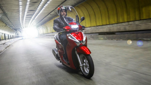 Hút mắt Honda SH 300i 2017 màu đỏ ngọc, giá 154 triệu đồng - 4