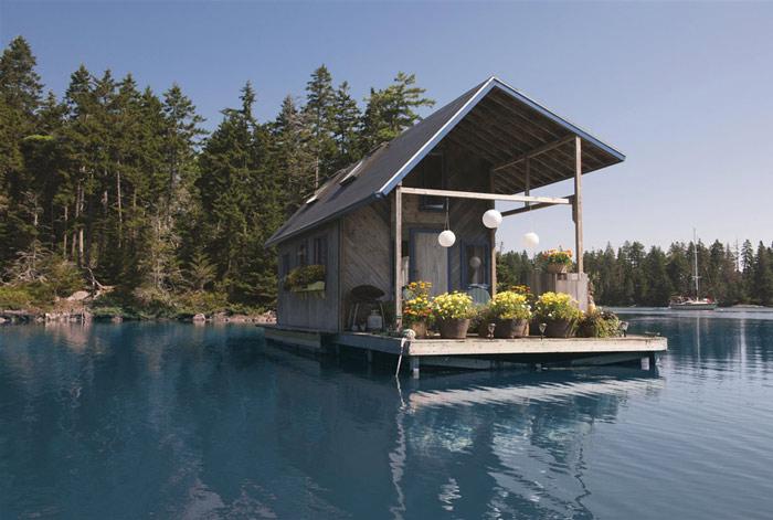 Nhà nổi 22m2 giữa hồ đẹp như tranh vẽ - 1