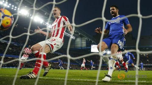 Chi tiết Stoke City - Chelsea: Nỗi đau phút 90+5 (KT) - 9