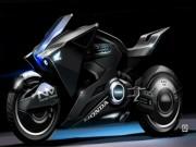 Xe độ - Siêu xe Honda NM4 Vultus đóng phim Vỏ Bọc Bóng Ma