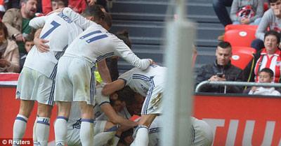 Chi tiết Bilbao - Real Madrid: Căng như dây đàn (KT) - 8