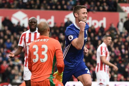 """Góc chiến thuật Stoke City – Chelsea: Trả giá vì """"mưu hèn kế bẩn"""" - 2"""