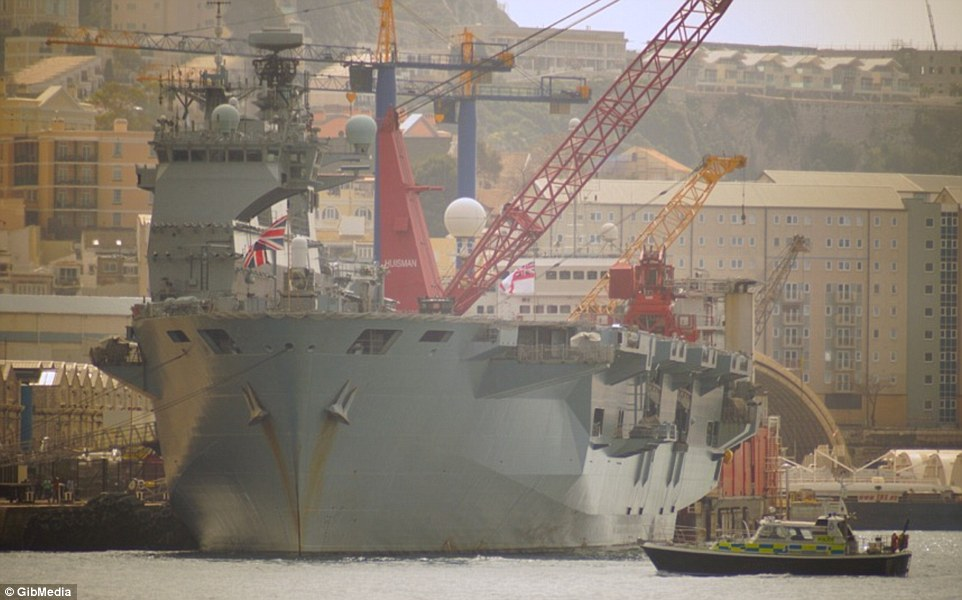 Bên trong chiến hạm lớn nhất nước Anh - 6
