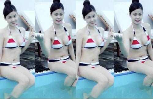 """Trương Quỳnh Anh cứ đi biển là """"dìm hàng"""" gái trẻ - 7"""