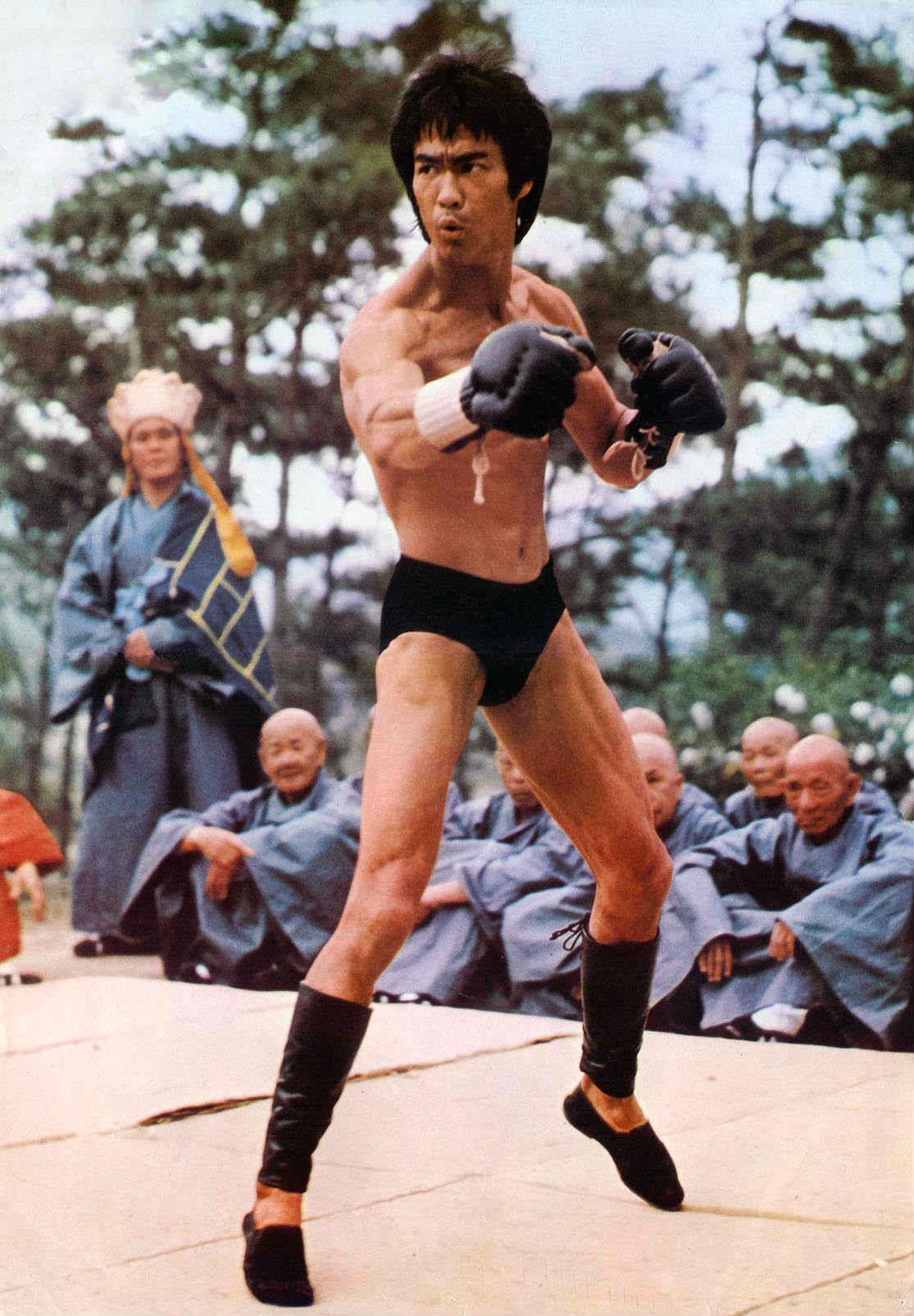 Lý Tiểu Long được fan MMA tôn sùng sau cảnh phim này - 7