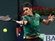 """Thể thao - Hùng hổ lên lưới, bị Federer """"hồi mã thương"""" trúng mặt"""