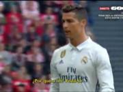 """Bóng đá - Real: Ronaldo chửi thề, Zidane lập tức """"nắn gân"""""""