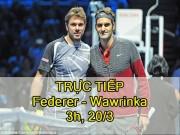 Thể thao - Chi tiết Federer – Wawrinka: Đẳng cấp lên tiếng (KT)