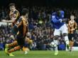Everton - Hull City: Sau thẻ đỏ là mưa bàn thắng