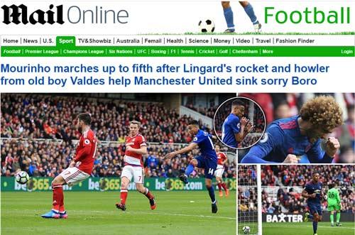 Trăm triệu fan MU mừng rơi nước mắt: Fellaini được so với Pele - 4