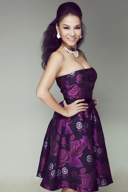 """""""Hoa mắt"""" với gu thời trang đẳng cấp của Thu Minh - 5"""